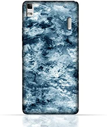 Lenovo K3 Note/Lenovo A7000 TPU Silicone Case With Cloudy Marble Texture Design.
