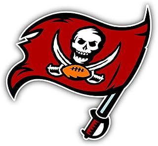 skyhighprint Tampa Bay Buccaneers NFL Football Flag Logo Sport Decor Vinyl Print Sticker