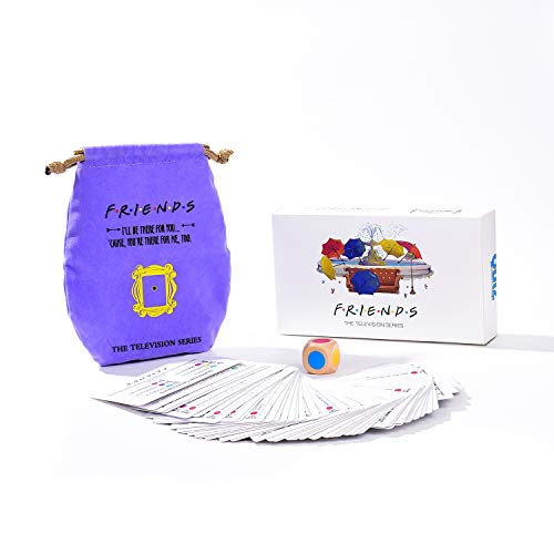 Friends TV Show Merchandise Trivia Quiz Card Games with 600 Questions for Friends FansBar Entertainment Game Night Sports Fun