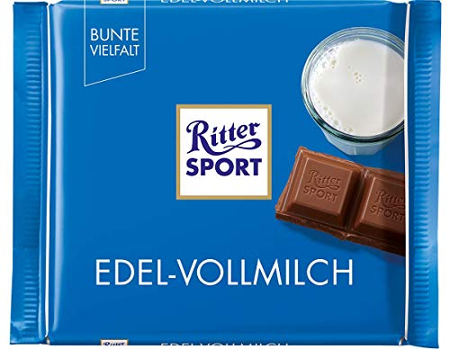 Ritter Sport Edel Vollmilch, 12er Pack (12 x 100 g Packung)