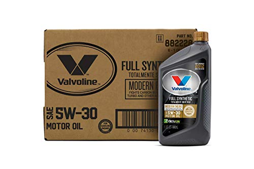 Valvoline Modern Engine SAE 5W-30 Full Synthetic Motor Oil 1 QT, Case of 6