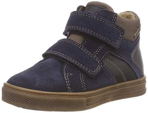 Richter Kinderschuhe Jungen Ola-6539-441 Hohe Sneaker, Blau (Atlantic/Taupe 7201), 25 EU