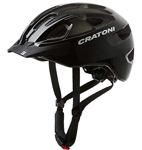 Cratoni C-Swift Allroundhelm Fahrradhelm Inlinerhelm Radhelm, Größe Uni (Black)