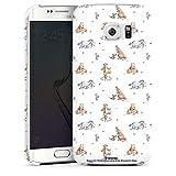 DeinDesign Coque Compatible avec Samsung Galaxy S6 Edge Étui Housse Winnie l'ourson Disney Produit...