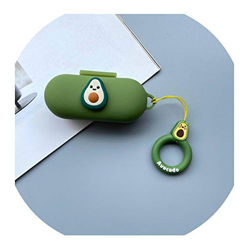 Cartoon Cute 3D Silicone Case for Huawei FreeBuds for Honor Flypods Lite Youth Version Earphone Protective Cover Decor Keyring