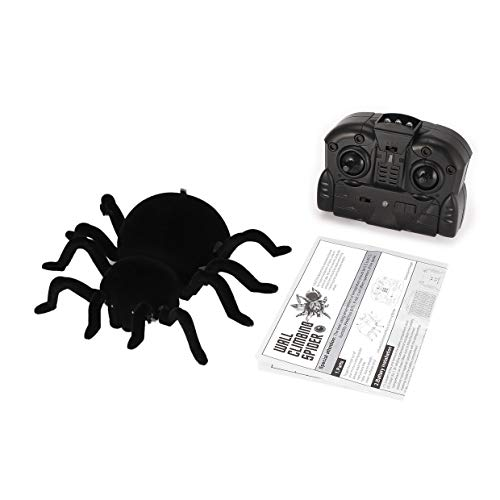 FY878 Infrared Remote Control Wall Climbing Realistic Spider RC Prank Insect Joke Scary Trick Toy Kid Gift Halloween Party Rone Life