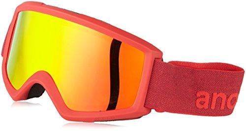 Burton Herren Snowboardbrille HELIX 2.0 W/SPARE, Blaze/Red Solex, One size