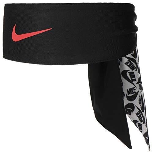 Nike Printed Dri-Fit Head Tie 2.0 hoofdband, unisex volwassenen, whiblared, eenheidsmaat