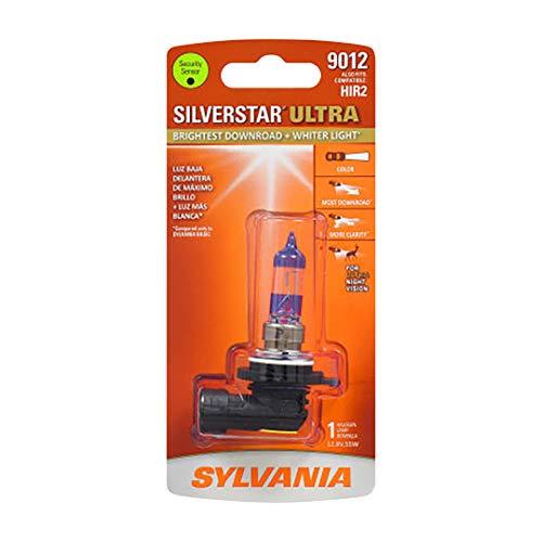 SYLVANIA 9012SU.BP 9012 Silver Star Ultra Halogen...