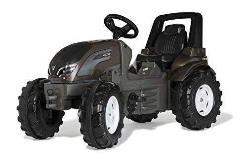 Rolly Toys 700271 Trettraktor rollyFarmtrac Premium Valtra (Tretfahrzeug für Kinder von 3-8 Jahre), grün