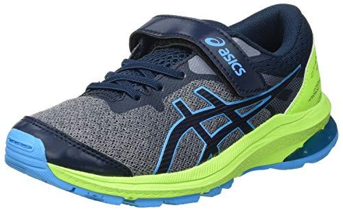 Asics GT-1000 10 PS, Road Running Shoe, French Blue/Digital Aqua, 35 EU
