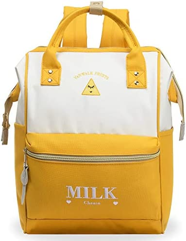 ZOMAKE Casual Travel Backpack Stylish School Backpack with Wide Doctor Style Top Opening product image