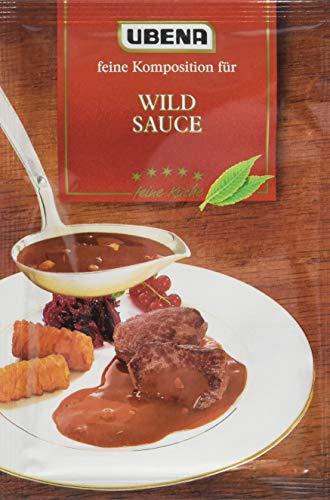 Ubena Wild Sauce, 4er Pack (4 x 40 g)