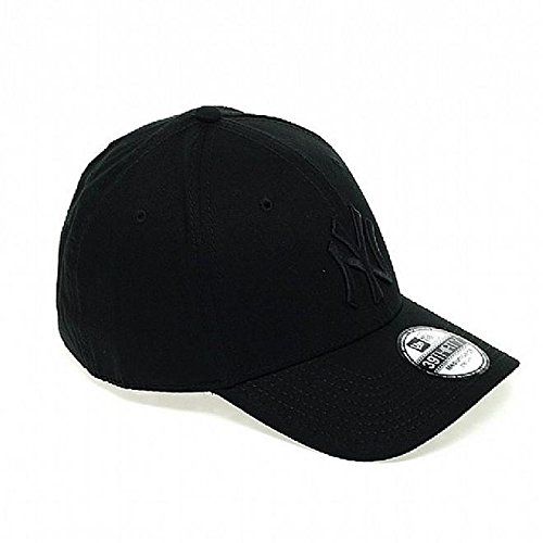 New Era NY Yankees 39 Thirty - Gorra para hombre, color negro (black/ black), talla M/L