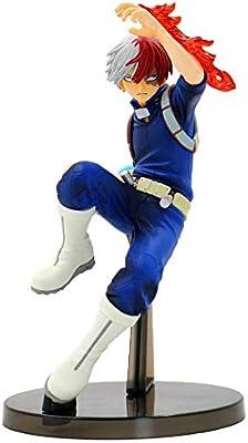 Katsuki Bakugou-1 Templom SIX My Hero Academia Action Figure,Izuku Midoriya Todoroki Shoto Katsuki Bakugou Vinyl Figure Collectible PVC Figure for Kids Teens and Anime Fans