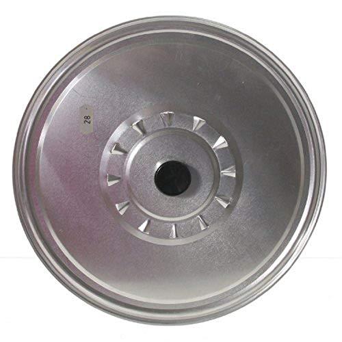 Garcima Couvercle en aluminium avec Devaporiser, Argent, 28 cm