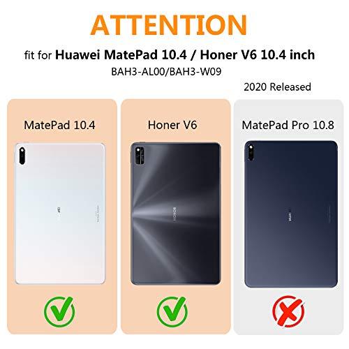 KATUMO Hülle für Huawei MatePad 10.4 Zoll 360 Rotierend Schutzhülle mit Auto Schlaf/Wach Hülle MatePad BAH3-AL00/BAH3-W09