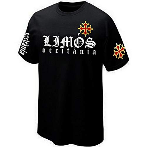 PRIMA ITALIA - T-Shirt LIMOS Limoux Occitanie - Référence OCC0057 (XL)