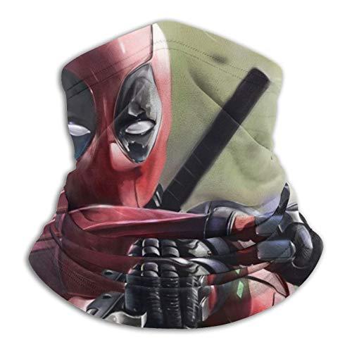 Deadpool - Gorro deportivo de fibra de poliéster versátil y casual, se puede utilizar como polainas de cuello, bandanas, pasamontañas, más