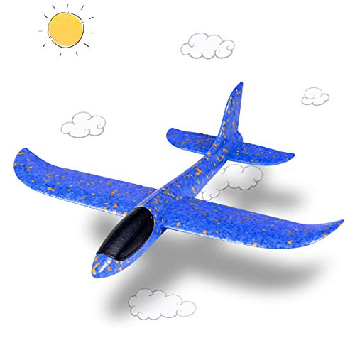 Highttoy Throwing Foam Airplane Toy for Boys,Children Aircraft Glider Toy...