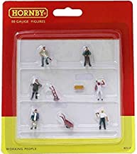 Hornby OO Gauge Working People 1:76 Scale Miniature Figures for Model Train Layouts R7117