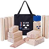 Kubb Yard Game Set for Adults, Families - Fun, Interactive Outdoor...