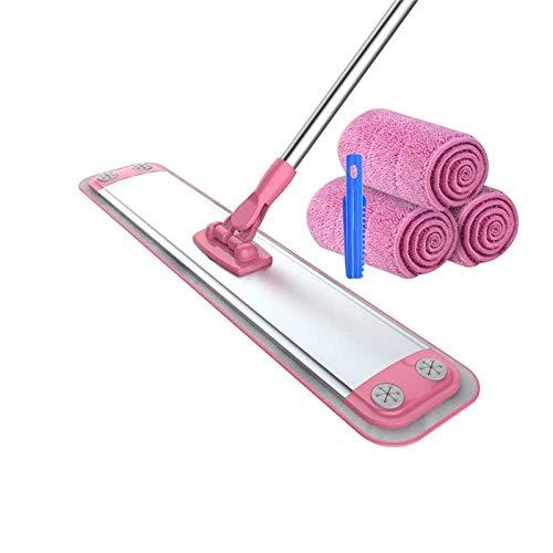 ACRD Fregar, Reutilizable Fibra Extrafina Paño De Limpieza Rotación Limpieza Ajustable Varilla Telescópica Hogar Suelo Ventana Fregonas (Color : #3)