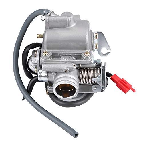 KSTE Carburador, Reemplazo de carbohidratos carburador de 4 Stroke GY6 110cc 125cc 150cc ATV Karts Scooters