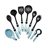 WPYYI 8pcs Nylon Cooking Tools Kitchen Utensils Set Quality Handles Cooking Tool Non Toxic Kitchen Gadgets Nonstick Cookware