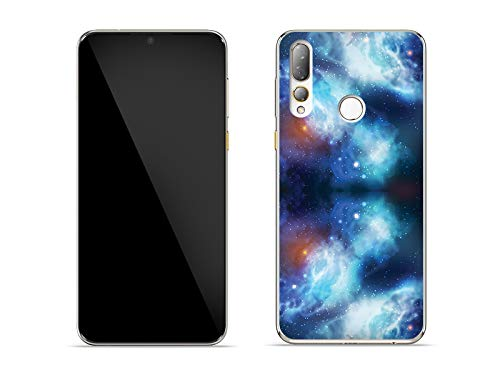 etuo Hülle für HTC Desire 19 Plus - Hülle Fantastic Case - Kosmos Handyhülle Schutzhülle Etui Case Cover Tasche für Handy
