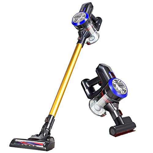 Great Features Of 2 in 1 Household Vacuum Cleaner Lightweight Cordless Handheld Stick Vacuum Cleaner...