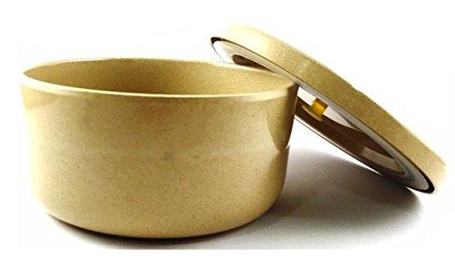 The Dida World Ware Mos Boîte repas écologique en fibre de riz Couleur naturel
