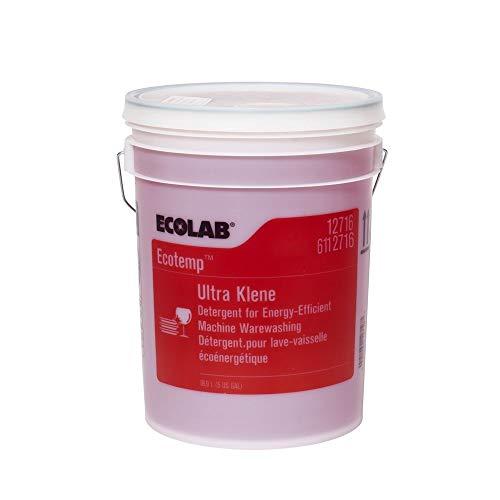 ECOLAB Ultra Klene Ware Washing Dish Washer Detergent - 5 Gallon