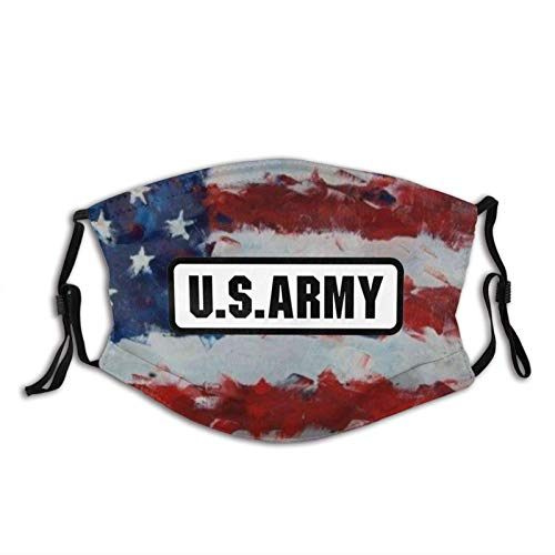 WEDA U.s. Army Logo Unisex dust masks, washable and reusable outdoor dust masks, special holiday funny mask gifts