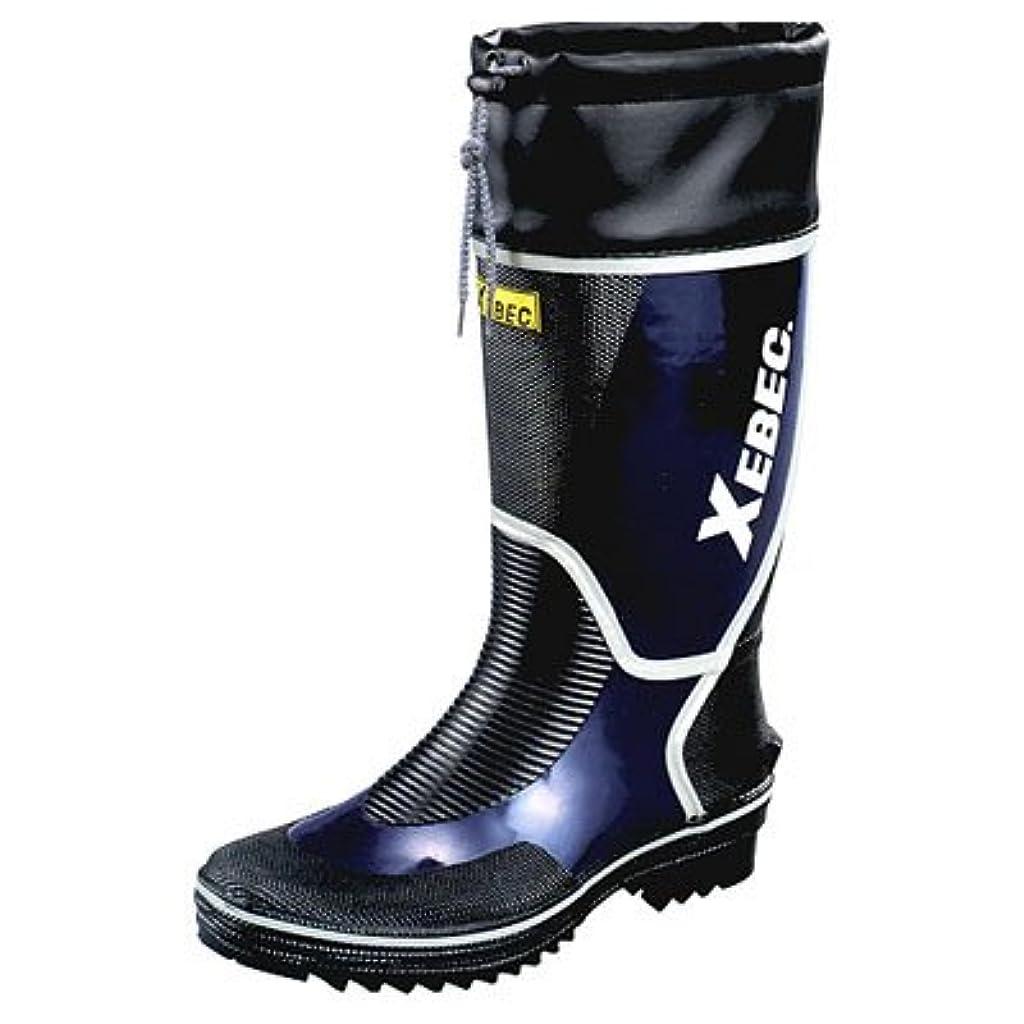 枯渇拡散する関係するジーベック 長靴(カラーブーツ)S(23.5~24.0)ネイビー 85706