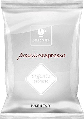 Lollo Caffè - 100 Capsule Caffè - PassioNespresso Argento - Comp. Nespresso