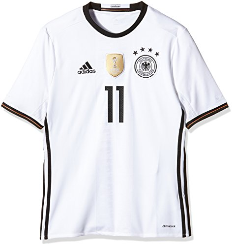 adidas Kinder Trikot DFB Home Jersey Youth Reus, White, 152