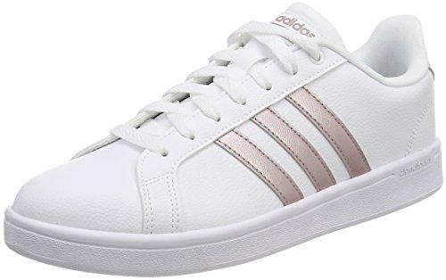 adidas CF Advantage W, Scarpe da Fitness Donna, Bianco (Grmeva/Ftwbla 000 Grmeva/Ftwbla 000), 40 EU
