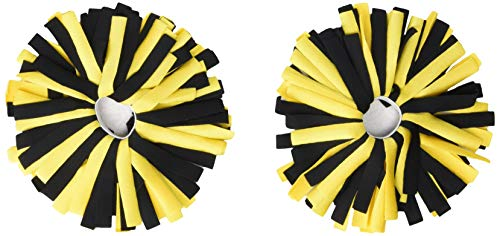 Pomchies pom, Black/Yellow Gold, One Size