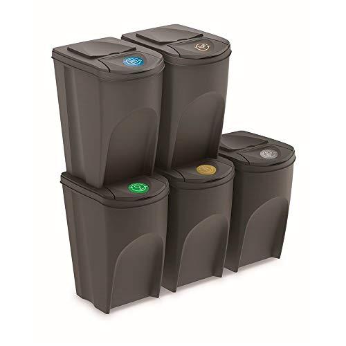 Papelera Reciclaje Plastico Marca Prosperplast