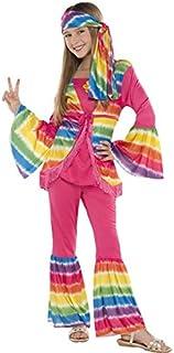 Amscan 841109 Groovy Hippie Girl Costume, Children Medium Size, 1 Piece