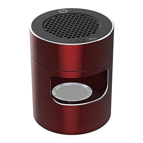 Idebris Multifunctionele luchtreiniger asbak rookloos filter met actieve kool formaldehyde deodorant USB oplaadbaar verwijderen voor auto/binnen/buiten, beschermt de gezondheid van je gezin