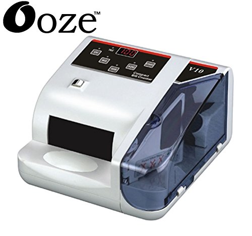 ooze Detector Note Counting Machine (White)