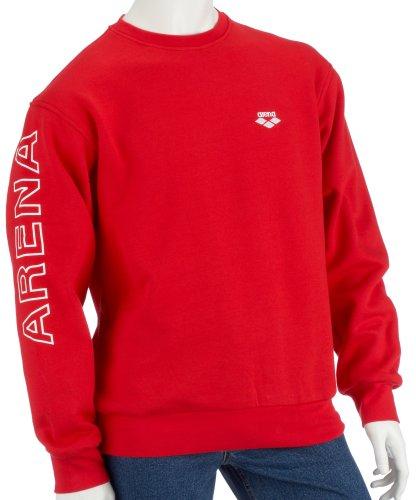 arena Pullover Echelon Sweat, red/white, S
