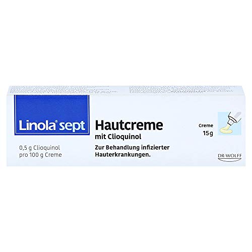 Linola sept Hautcreme mit Clioquinol Creme 15 Gramm