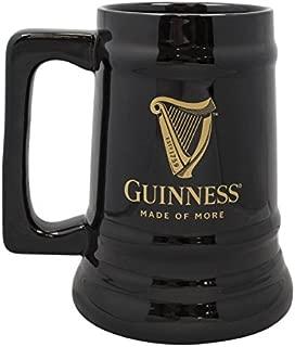 Guinness Black Ceramic Harp Beer Tankard