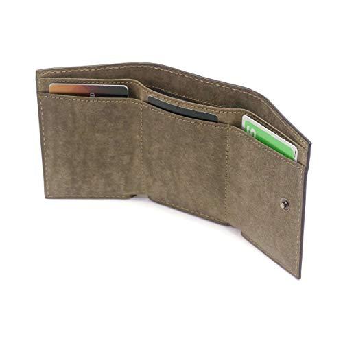 [バギーポート]三つ折り財布本革ブオナZYS-2409メンズキャメルBP-ZYS2409-CA