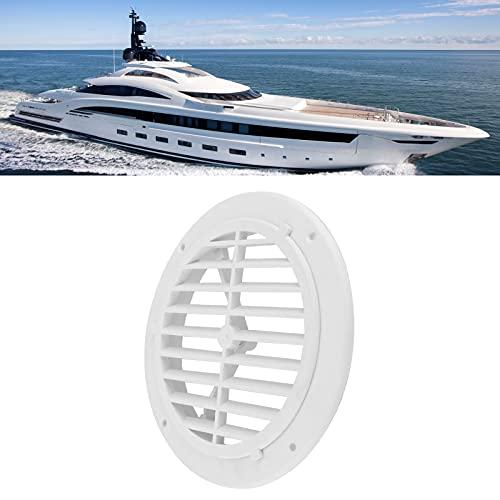 Rejilla de ventilación, cubierta de ventilación, fácil instalación, 164 mm / 6,5 pulgadas de diámetro, fuerte dureza para yates, barcos, vehículos recreativos, para baños e inodoros