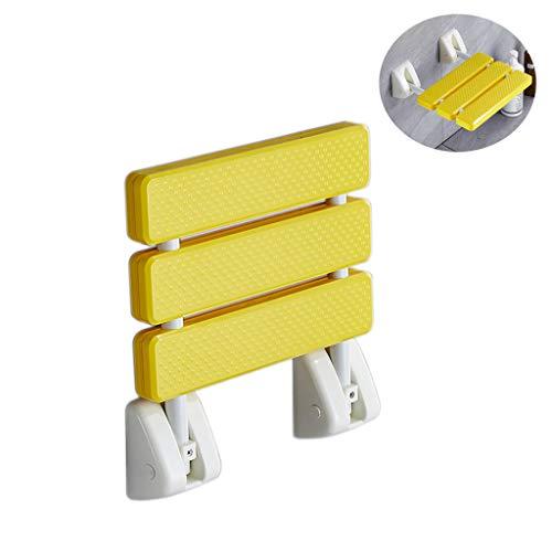 PLHMS opklapbare douchestoel, wandbevestiging, badbank, antislip badstoel, geschikt voor volwassenen met een handicap, kan 120KG / 260LB dragen
