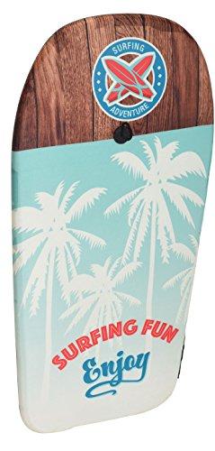Eliware Bodyboard mit glatter Unterseite | 84cm | Palmen